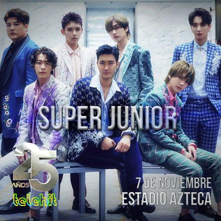 【公式】「SUPER JUNIOR」、メキシコ最大の音楽チャンネル授賞式に出席へ(画像:OSEN)