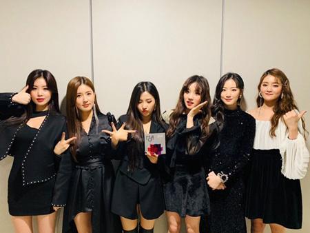 韓国ガールズグループ「(G)I-DLE」が「2018 MGA」女性新人賞を受賞した。(提供:OSEN)