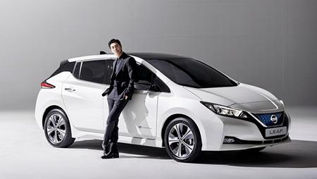 韓国日産は気自動車の新型リーフの広告モデル兼広報大使として「東方神起」ユンホを選定(提供:News1)