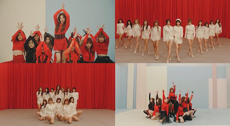 「IZ*ONE」、「La Vie en Rose」MVパフォーマンスバージョンを公開! (提供:OSEN)