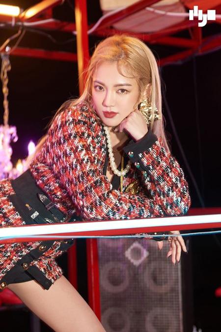 韓国ガールズグループ「少女時代」ヒョヨンことDJ HYOの新曲「Punk Right Now」がきょう(13日)公開される。(提供:OSEN)
