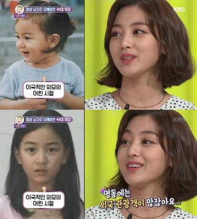 韓国ガールズグループ「TWICE」、メンバーのジヒョが、エキゾチックな外見のため小さい頃にハーフではないかと誤解されていたことを打ち明けた。(写真提供:OSEN)
