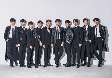 俳優グループ「THE MAN BLK」、きょう(15日)「エムカウントダウン」で歌手デビュー! (提供:OSEN)