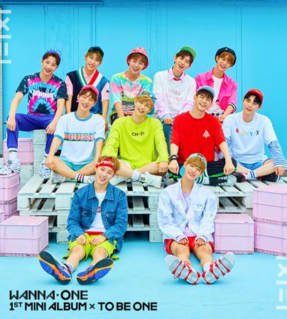 韓国プロジェクトボーイズグループ「Wanna One」が同じ構図、同じポーズで最初と最後のアルバムを飾る。(写真提供:OSEN)