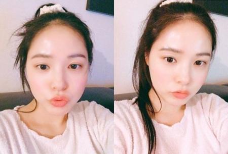 韓国ボーイズグループ「BIGBANG」SOLの妻で女優のミン・ヒョリンのビジュアルが話題になっている。(写真提供:OSEN)