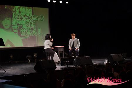 インタビューに答える「MYNAME」セヨン