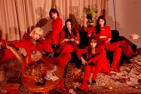 韓国ガールズグループ「EXID」の新曲「I LOVE YOU」に対する国内での反応が、どんどん上がっている。(提供:OSEN)