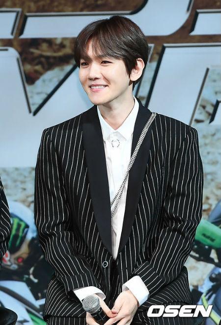 格別なファン愛を示した「EXO」BAEK HYUN。(提供:OSEN)