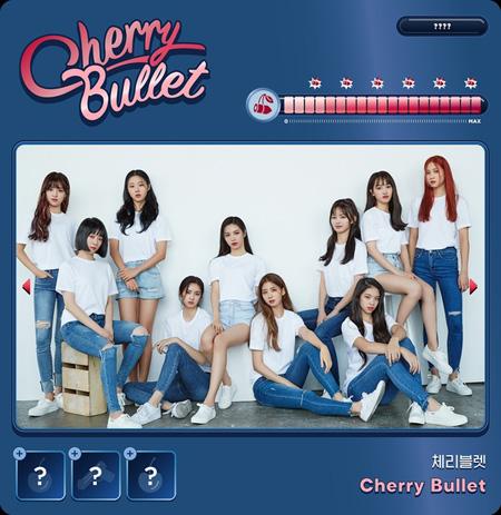 FNCが新たにお披露目する10人組ガールズグループ「Cherry Bullet」が完全体を初公開した。(提供:news1)