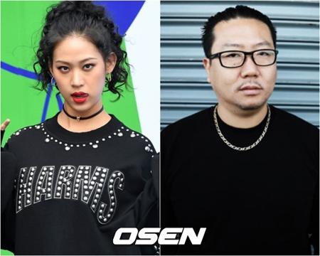 """""""14歳差""""ナダ(元WASSUP)&Kirk Kim、公開恋愛2年で破局"""