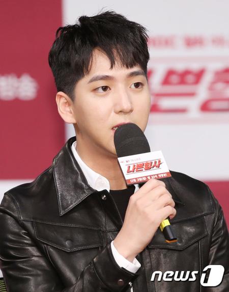 「悪い刑事」チャ・ソヌ(元B1A4/BARO)、「俳優に転向…シン・ハギュンにたくさん学んでいる」(提供:news1)