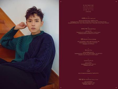 韓国アイドルグループ「SUPER JUNIOR」リョウクがニューアルバム「君に酔って(Drunk on love)」のトラックリストを公開した。(提供:OSEN)