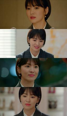 韓国女優ソン・ヘギョが主演を務める新ドラマ「ボーイフレンド」が好発進を見せる中、彼女の美貌に関心が集まっている。(写真提供:OSEN)