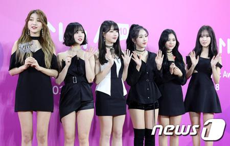 韓国ガールズグループ「GFRIEND」が、「2018 MelOn Music Awards」でミュージックビデオ賞を受賞した。(提供:news1)