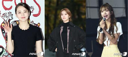 """韓国人女性の名前の中で""""ソヒ""""というのは比較的多い名前でもあり、女性らしさを感じられる名前だ。(左からアン・ソヒ、「ELRIS」ソヒ、歌手キム・ソヒ/写真提供:news1)"""