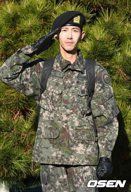 「ZE:A」グァンヒ、軍服務を終えて本日(7日)除隊(提供:OSEN)