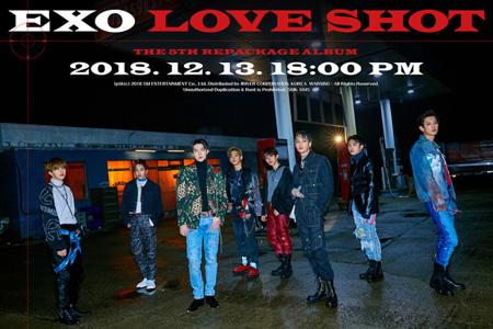 「EXO」、新曲「Love Shot」MVティザー映像を公開! (提供:news1)