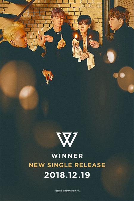 韓国アイドルグループ「WINNER」が12月19日のカムバックを確定した。(提供:OSEN)