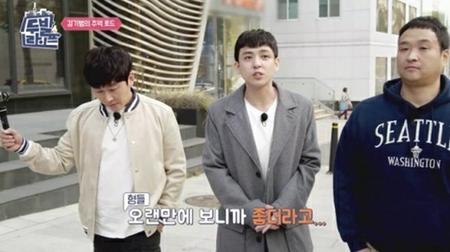 韓国バラエティ番組「2足ライフ」に出演したボーイズグループ「SUPER JUNIOR」元メンバーのキム・キボムが、かつての仲間たちについて語った。(写真提供:OSEN)