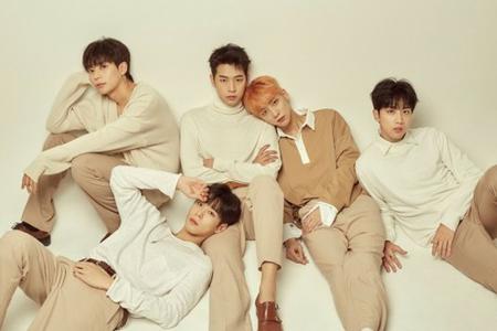 韓国ボーイズグループ「KNK(クナクン)」が5人組となって新しいスタートを切ることになった。(写真提供:OSEN)