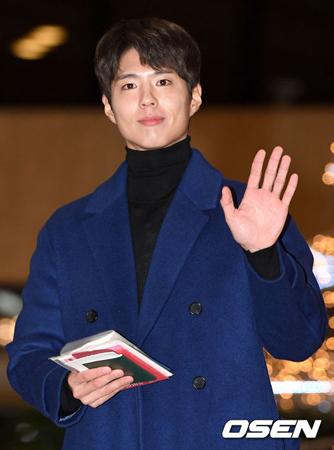 韓国俳優パク・ボゴムが、クリスマスイブを一緒に過ごしたいスター1位に選ばれた。(提供:OSEN)