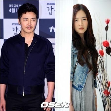 韓国俳優ユン・サンヒョンと妻で歌手のMaybeeに、第3子が誕生した。(提供:OSEN)