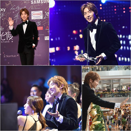 韓国俳優イ・ジュンギが、アジア最高のスターに選ばれた。(提供:OSEN)