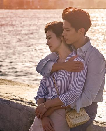 韓国俳優パク・ボゴムと女優ソン・ヘギョ主演のドラマ「ボーイフレンド」の最新話となる9話の放送が延期されることになった。(提供:OSEN)