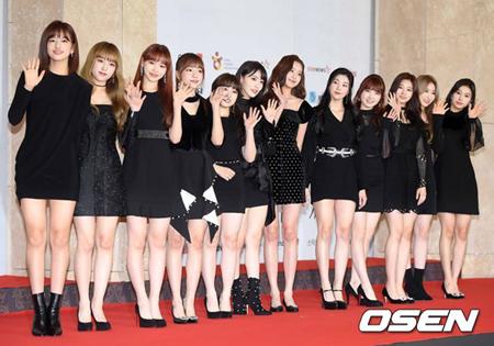 日韓ガールズグループ「IZ*ONE」が、来年1月20日にデビューショーケースを開催する。(提供:OSEN)