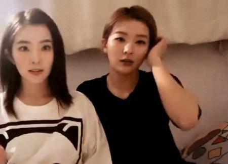 舞台の上ではいつも長い髪をなびかせ、その可愛らしさをアピールしている韓国ガールズグループ「Red Velvet」のアイリーン。(写真提供:OSEN)