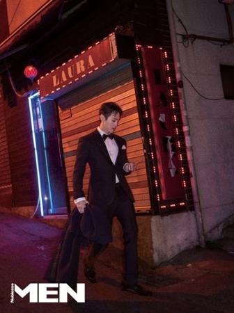 韓国俳優クォン・ユルが、セクシーな魅力をアピールした。(写真提供:OSEN)