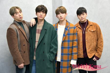 「U-KISS」左からフン、ジュン、キソプ、イライ