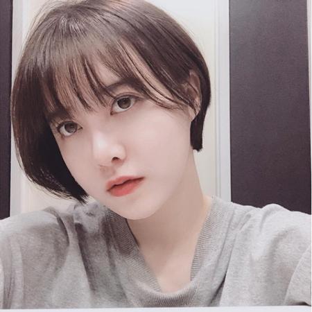 韓国女優ク・ヘソンが、ばっさりと髪を切ってショートヘアにした姿を公開し、話題になっている。(写真提供:OSEN)