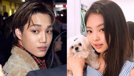 2019年の第一号カップルとなった、「EXO」KAIとBLACKPINKジェニーのSNSが話題となっている。(写真提供:OSEN)