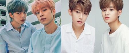 「Wanna One」イ・デフィ&パク・ウジン合流、「BRANDNEWBOYS」完全体デビュー専担TFチームを構成(提供:OSEN)