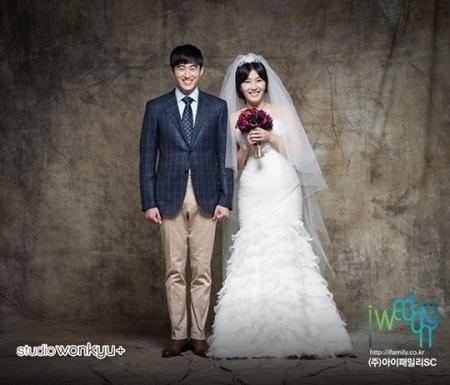 【公式】女性お笑い芸人キム・ミリョ&俳優チョン・ソンユン夫妻、昨年12月に第二子誕生(提供:OSEN)