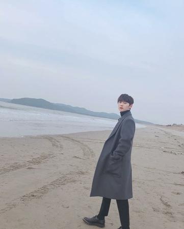 韓国ボーイズグループ「NU'EST」のメンバーとしてのファン・ミンヒョンが帰ってきた。(写真提供:OSEN)