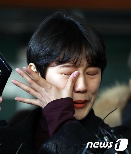 """""""非公開撮影会""""でのセクハラ被害を暴露した有名ユーチューバーのヤン・イェウォン氏(25)が一審で勝訴後、「慰めになる」と心境を語った。(提供:news1)"""