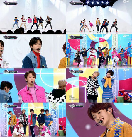 JELLYFISHの新人グループ「VERIVERY」、デビュー曲MVが1日で再生回数100万突破(画像:OSEN)