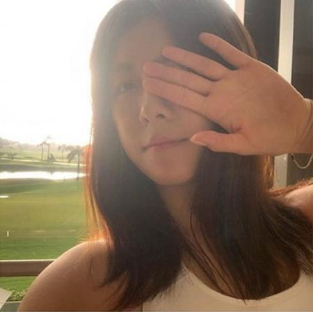 韓国女優ハ・ジウォンが、欠点のないスッピンで変わらぬ美貌を見せた。(写真提供:OSEN)
