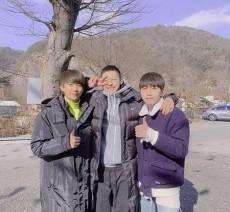 「B1A4」シヌゥがきょう(22日)入隊、ゴンチャン&サンドゥルが見送りに(画像:B1A4 Instagram)