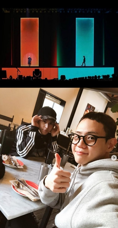 韓国アイドルグループ「Highlight」ソン・ドンウン(27)が本日(24日)入隊のヤン・ヨソプ(29)への切ない気持ちを伝えた。(提供:OSEN)