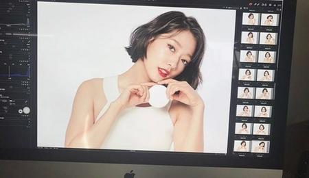 韓国女優パク・シネが、ボブスタイルに変身した姿を公開した。(写真提供:OSEN)