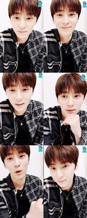 韓国プロジェクトグループ「Wanna One」で活動していたファン・ミンヒョンが、「NU'EST」として久しぶりにファンに会った。(提供:OSEN)
