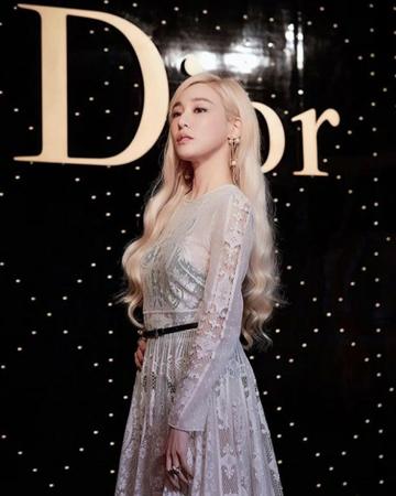 韓国歌手ティファニー(少女時代)が自身のソロ曲を聴いたメンバーたちの反応について語った。(写真提供:OSEN)