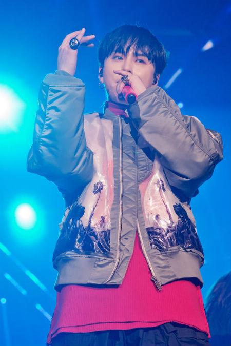 「HighLight」ヨン・ジュンヒョンが単独コンサート「GOODBYE 20'S」を大盛況のうちに終えた。(提供:OSEN)