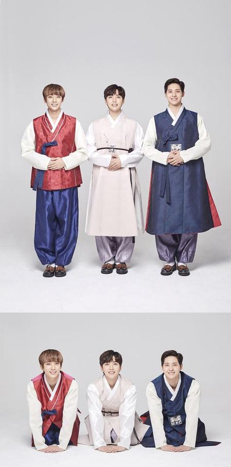 「B1A4」、韓服姿で旧正月のあいさつ 「福をたくさん、幸せに溢れた一年でありますように」(画像:OSEN)