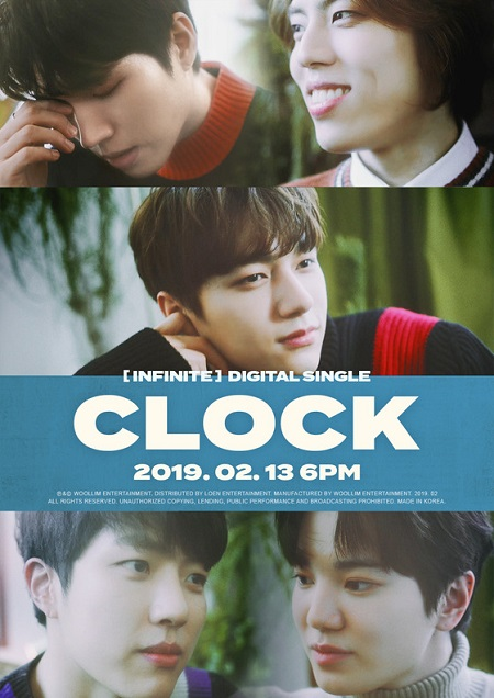 「INFINITE」、来る13日にデジタルシングル「CLOCK」でカムバック=フォトティザー公開! (提供:news1)