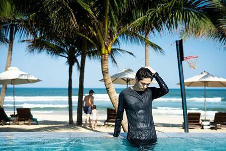 韓国プロジェクトボーイズグループ「Wanna One」として活動していたオン・ソンウが、鍛え上げられた肉体を披露した。(写真提供:OSEN)