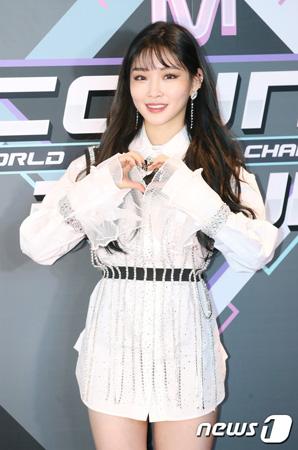 腸炎で入院していた韓国歌手チョンハ(23)が、退院した。(提供:news1)